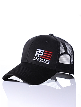 Fashion Letter Embroidery Unisex Baseball Cap