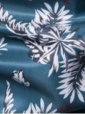 Trendy Botanic Printed Short Sleeve Button Up Shirts