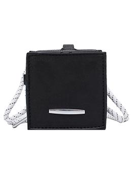 Thin Strap Solid Square Mini Crossbody Shoulder Bags