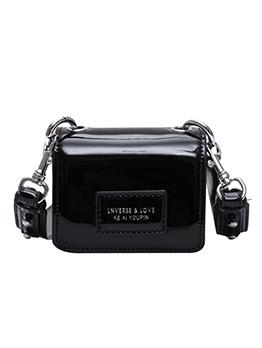 Patent Leather Detachable Strap Mini Crossbody Shoulder Bags