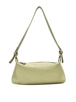 Short Belt Pure Color Simple Style One Shoulder Bags