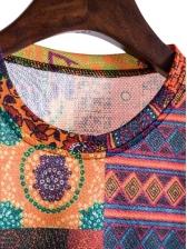 Retro Printed Short Sleeve Wholesale t Shirts