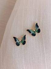 Vintage Style Butterfly Earrings For Women