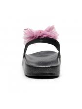 Stylish Stereo Flower summer slippers