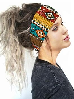 Summer Running Printed Headbands For Women