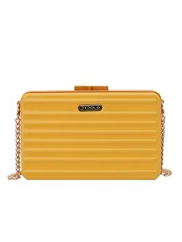 Rectangle Box Shape Pure Color Chain Shoulder Bags