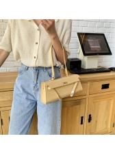 Alligator Print Short Strap Pure Color One Shoulder Bags