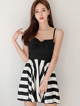 Empire Waisted Slip Mini Sleeveless Summer Dresses