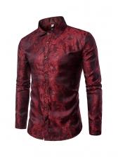 Stylish Button Down Men Long Sleeve Shirts