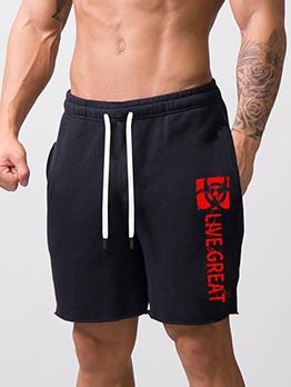 Running Casual Printed Half Pants For Men