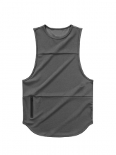 Summer Solid Color Workout Tank Tops