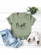 Plus Size Comfortable Cotton Women T Shirt