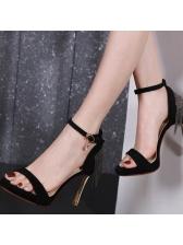 Sexy Suede Upper Tassels Platform Sandals