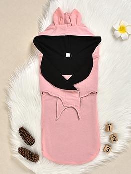 Hooded Collar Bat Shape Baby Sleeping Bag Clothes