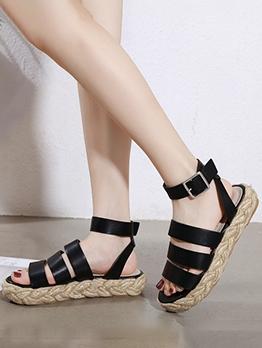 Roman Style Non Slip Flat Sandals