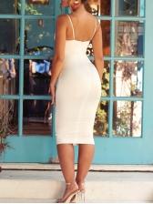 Sexy Cut Out Sleeveless Mini Dress For Women