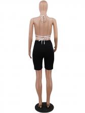 Bikini Top Reflective Patchwork Summer Two Piece Sets