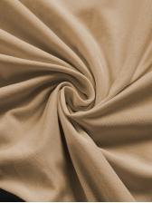 Contrast Color V Neck Casual Maxi Dresses