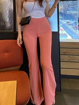 Elegant Solid Camisole Two Piece Pants Set