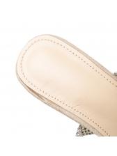 Chic Clear Heels Rhinestone Comfortable Sandals