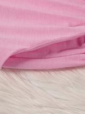 Casual Smart Waist Solid Short Sleeve Romper