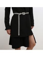 Shiny Rhinestone Small Beaded Accessories Belt For Women