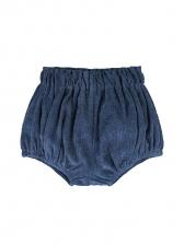 Corduroy Printed Elastic Waist Shorts For Baby Girls