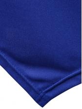 Solid Irregular Short Sleeve Hooded T Shirt