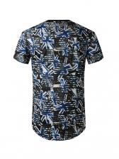 Hip-Hop Printed Short Sleeve Cool T Shirts