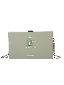 New Fashion Cartoon Animal Chain Box Crossbody Bags