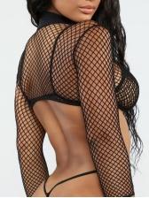 Sexy Long Sleeve Three Piece Bikini For Women