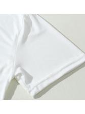 Crew Neck Letter Short Sleeve Cheap T Shirts