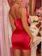 Sexy Crisscross Strap Sleeveless Bodycon Dress