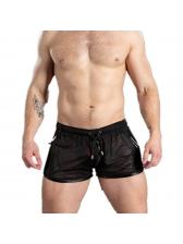 Summer Breathable Drawstring Short Pants For Men