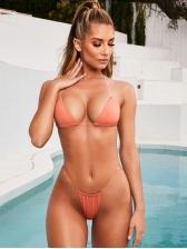 Transparent Straps Sexy Two Piece Bikini For Summer