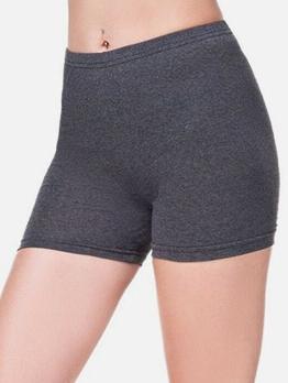 Solid High Rise Skinny Leggings For Women