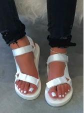 Solid Ladies Flat Sandals