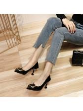 Korean Style Pointed Toe Heels Online