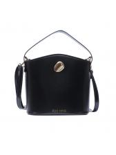 Adjustable Strap Solid Color Versatile Buckle Bags
