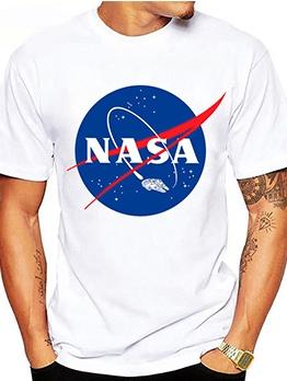 Casual Printed Short Sleeve Tee Shirts