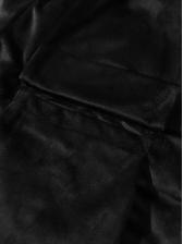 Velvet Pockets Loose Short Pants For Men