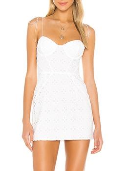 Stylish Embroidery Slip Mini Summer Dresses