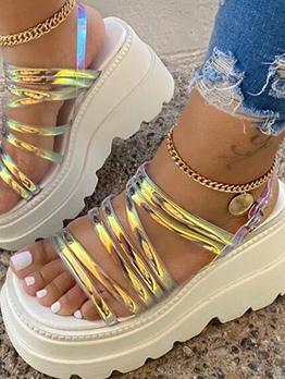 Euro High Platform Ladies Sandal