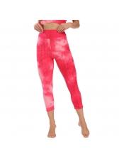 Tie Dye High Waist Breathable Gym Legging