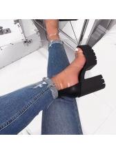 High Platform Chunky Heel Comfortable Sandals