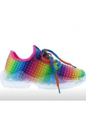 Colorful Non Slip Women Cheap Sneakers