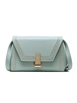 Versatile Style Solid Color Shoulder Bag For Women