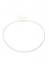 Shiny Rhinestone Thin Body Chain Women Waist Belt