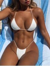 Sexy Solid Color 2 Piece Bikini Sets