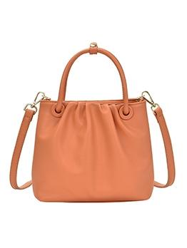 Simple Style Pure Color Detachable Strap Shoulder Bag